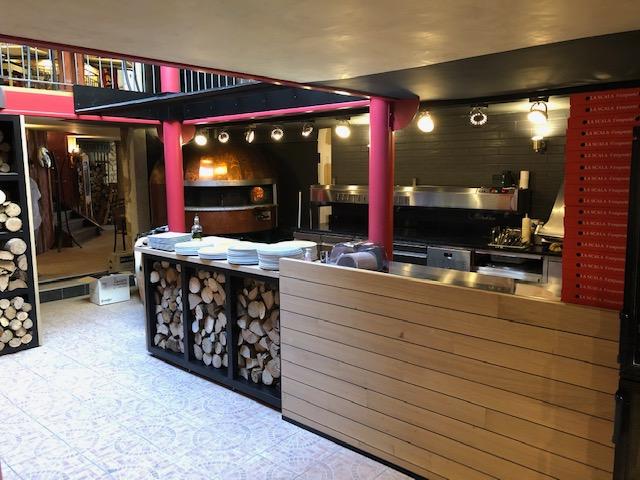 Rénovation restaurant La Scaleta Châteauroux