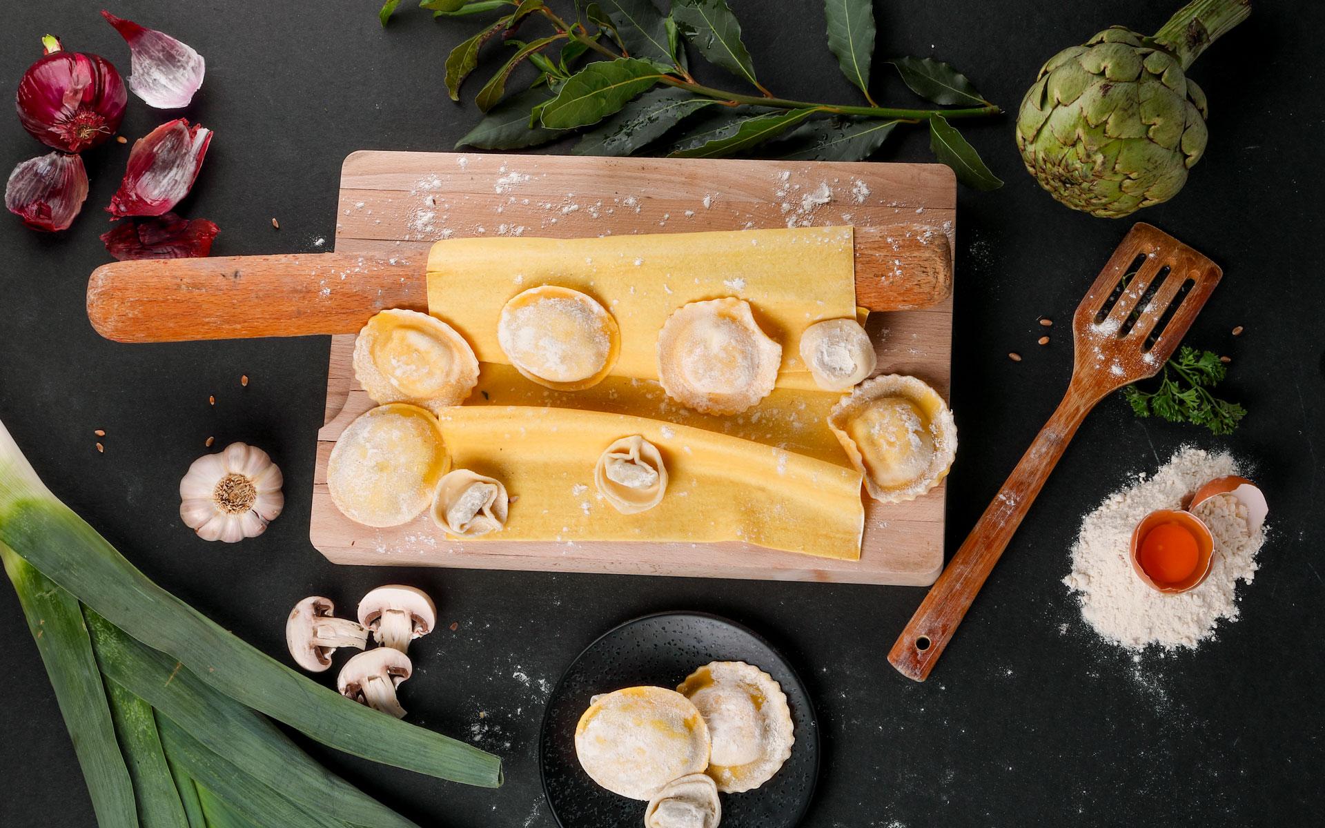 La Scaleta - Ingrédients raviolis - Actualités