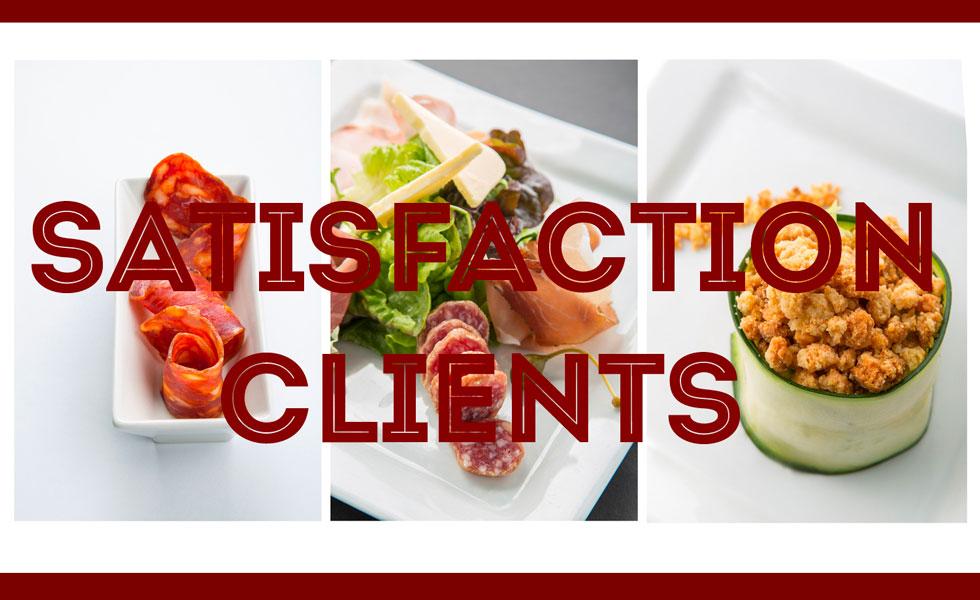 La satisfaction clients au cœur de l'activité