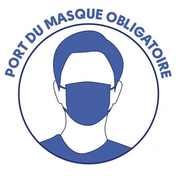 Port du masque obligatoire dans nos restaurants